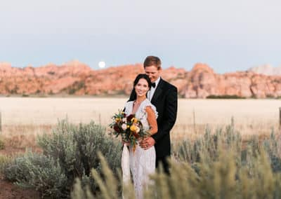 Destination Wedding At Lazalu Zion National Park Retreat-12