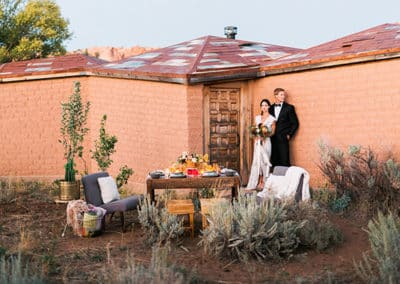 Destination Wedding At Lazalu Zion National Park Retreat-13