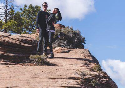 Elopment Wedding At Lazalu, Retreat In Zion National Park012
