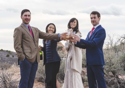 Elopment Wedding At Lazalu, Retreat In Zion National Park191