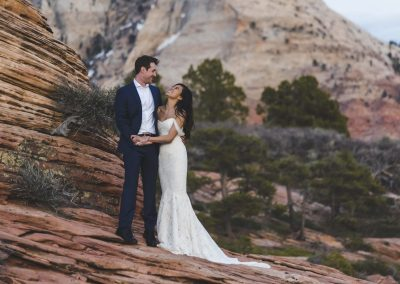 Elopment Wedding At Lazalu, Retreat In Zion National Park236