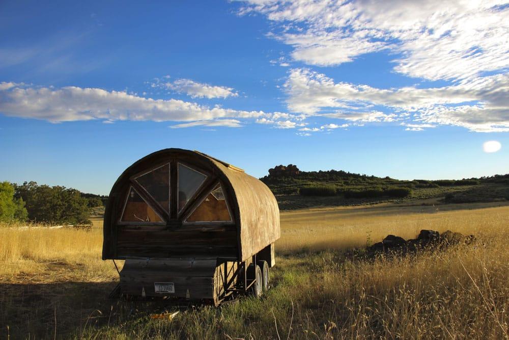 A Photo Essay Of The Sheep Wagon At Lazalu